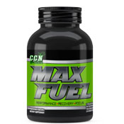 Pre-workout Supplement CCN Supplements Max Fuel featuring the patented ingredient PEAK ATP