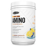 Pre-workout Supplement MuscleTech Pre Series Amino featuring the patented ingredient PEAK ATP
