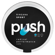 Pre-workout Supplement RINGANA SPORT Push featuring the patented ingredient PEAK ATP