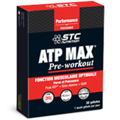 Pre-workout Supplement STC Nutrition ATP MAX featuring the patented ingredient PEAK ATP
