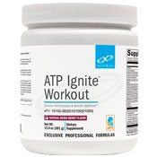Pre-workout Supplement Xymogen ATP Ignite Workout featuring the patented ingredient PEAK ATP